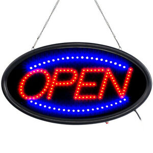 Animated Motion Ultra Bright Open Business Sign Store Led Neon Light With On off