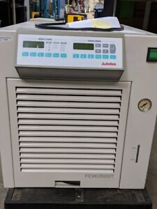 Julabo Fcw2500t Compact Recirculating Cooler May Need Recharge