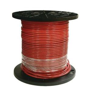Southwire Thhn Wire 500 Ft 8 Red Stranded Cu Simpull Waterproof