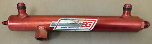 Barry Grant 170020 Fuel Log 9 312 Ctr To Ctr 8an In out Red Aluminum