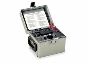 Megger 560060 3 phase Motor And Phase Rotation Tester 50hz 60hz Frequency