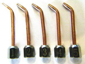 5 Sizes Jewelers Little Torch Tips Smith Type