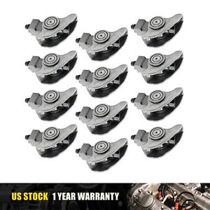 12x Roller Rocker Arms Set For 2000 2001 2002 Buick Chevrolet Olds Cxl Gls