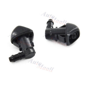 Car Front Windshield Wiper Washer Nozzle Spray Jet For Honda Pilot Mk2 2009 2015