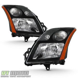 For 2007 2008 2009 Sentra Headlights Light Lamps Left Right 07 08 09 Aftermarket