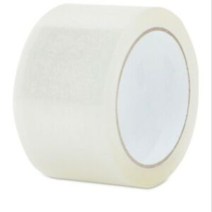 18 Rolls Of 2 inch X 55 Yards Clear Tape Packing Tape 2 mil Thickness