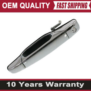 Door Handle For 2007 2013 Chevrolet Silverado 1500 Chrome Front Left Outer Oem