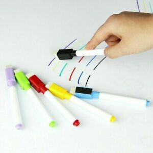 5 10pcs Magnetic White Board Markers Dry Erase Markers Whiteboard Markers