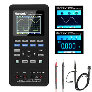 Hantek 3in1 Digital Oscilloscope waveform Generator multimeter Portable Usb