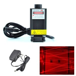 High Power 650nm 200mw Red Laser Diode Module W 12v Adapter Room Escape Lights