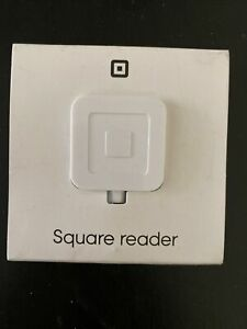 Square Reader Credit Card Reader For Mobile Devices Brand New