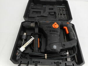 Tacklife Trh01a 1 1 4 Inch Sds plus 12 3 Amp Rotary Hammer Drill