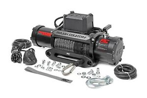 Rough Country 9500lb Pro Series Electric Winch W Synthetic Rope Pro9500s