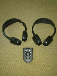 Ford 2009 Expedition X2 Headphones And Remote Black
