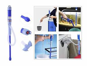 Battery Powered Operated Gas Oil Water Liquid Transfer Multi purpose Siphon Pump