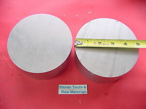 2 Pieces 5 Aluminum 6061 Round Rod 2 25 Long T6 Solid Extruded Lathe Bar Stock