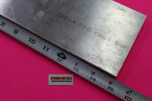 1 2 X 4 Aluminum 6061 Flat Bar 15 Long T6511 Solid Extruded Plate Mill Stock