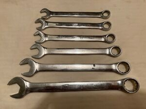 Matco 6 Metric 12 Point Combination Wrenches Nice