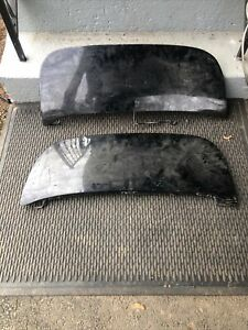 1949 Through 1950 Mercury Fender Skirts Original Steel Pair