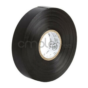 Insulating Tape Black Electrical Tape 65ft Roll New