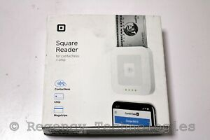 Square Contactless And Chip Reader A sku 0485 White New