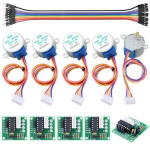 5v 4 phase Geared Stepper Motor W Uln2003 driver Board 28byj 48 For Arduino