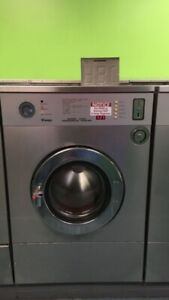 Ipso 50lb Commercial Coin op Front Load Washer 5 Load