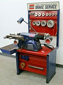 Ammco 4000 Disc Drum Brake Lathe With Ammco Adaptek Adapter Kit Bench