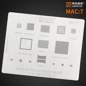 Bga Stencil For Macbook Pro A2159 a1989 a1990 339s00616 338s00466 a0 Cpu Chip
