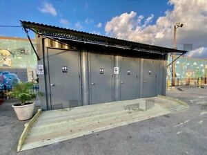 20 Container Restroom Stall