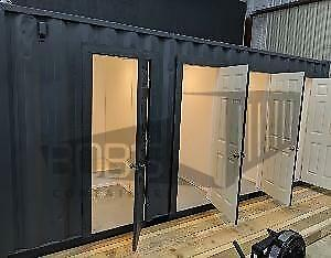 20 Container Shower 4 Stalls