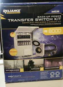 Reliance Controls Back up Power Transfer Switch Kit 306lrk
