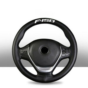 Genuine Leather For Ford F150 F 150 15 Diameter Car Auto Steering Wheel Cover