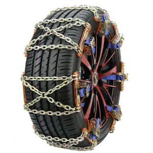 1pcs Steel Snow Tire Chain For Car Truck Suv Anti Skid Emergency Winter Driving Fits Chevrolet