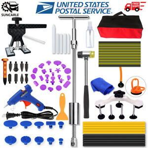 Paintless Auto Car Dent Repair Kits Tool Bags Hail Damage Suction Cup Removal
