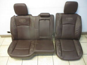 2015 Dodge Ram 1500 Longhorn Rear Seat Center Console Brown Leather Oem Lkq