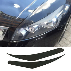 Front Headlight Lamp Eyebrow Sticker Decoration For Honda Accord 8th 2008 2012