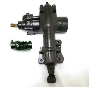 1955 1956 1957 Chevrolet 500 Series Power Steering Gear Box With Black U Joint