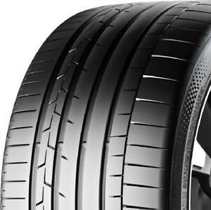 1 New 245 35r19 Continental Sportcontact 6 93y 245 35 19 Performance Tires