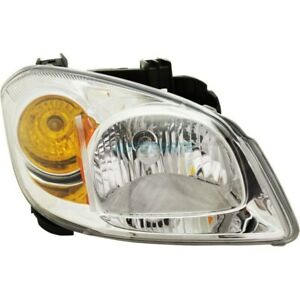 New Right Halogen Head Lamp Assembly Fits 2005 2008 Chevrolet Cobalt Gm2503251