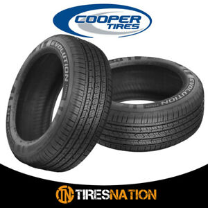 2 New Cooper Evolution Tour 215 70r15 98t Tires
