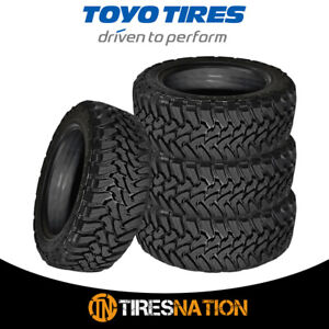 4 New Toyo Open Country M t Lt265 70r18 10 124 121q All Terrain Mud Tires