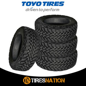 4 New Toyo Open Country M t 295 55 20 123 120p Mud Terrain Tire