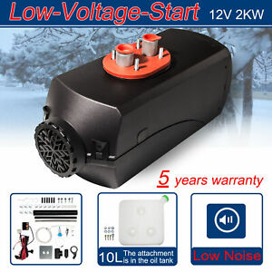 Prifil 12v 2kw Diesel Air Heater Parking Low Noise For Truck Car Boat Trailer Rv