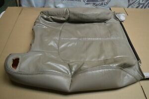 1999 02 Silverado Sierra Oem Front Top Passenger Side Seat Leather Cover tan
