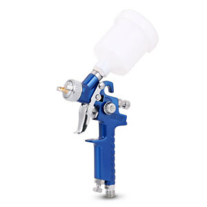 Mini Hvlp Air Spray Gun Auto Car Detail Touch Up Paint Sprayer Spot Repair 0 8mm