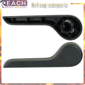 Seat Recliner Handle Lh Driver Side Front Ebony For Chevy Gmc Pickup Truck Suv