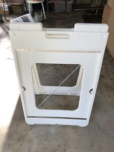 Commercial Sandwich Board Folding Sign Frame new In The Carton 24 wx36 h