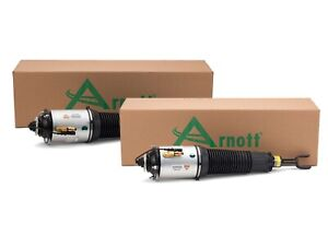 Arnott Pair Set 2 Front Air Suspension Struts For Bentley Continental Vw Phaeton