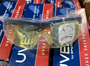 Uvex Safety Glasses By Honeywell New In Box Yellow Lens